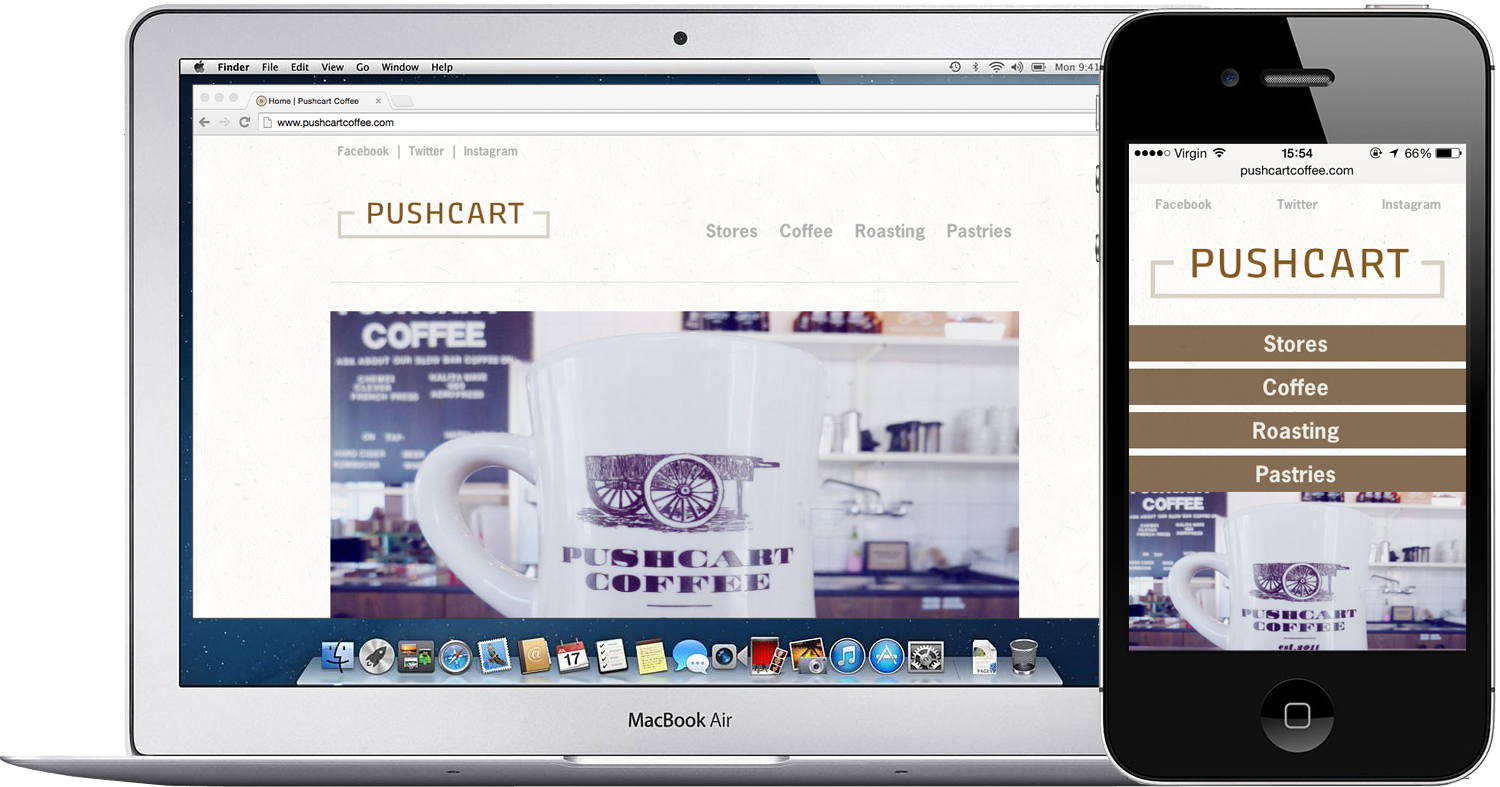 Pushcart Website
